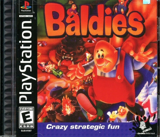 Video game:Sony PlayStation Baldies - Sony Computer Entertainment