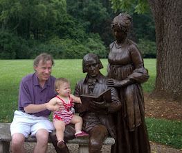 Photo: Pre-Naturalization visit to Madison's Montpelier