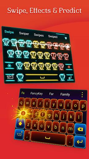 FancyKey Keyboard - Emoji, GIF 2.1 screenshots 6