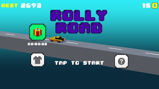 Rolly Road - super fun and challenging arcade game - náhled