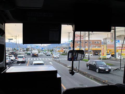 阪急バス「よさこい号」昼行便 2891 車窓 その7
