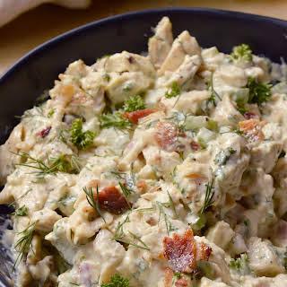 Bacon Ranch Chicken Salad.