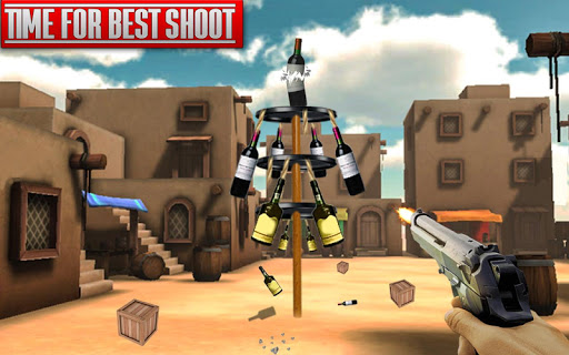 Real Bottle Shooting Free Games| 3D Shooting Games apkpoly screenshots 15