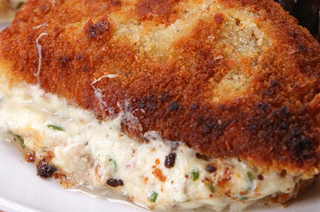 Garlic Herb Stuffed Pork Chops Recipe | Yummly