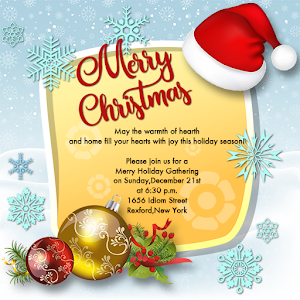 Xmas invitation letter maker 2017 android apps on google play xmas invitation letter maker 2017 stopboris Image collections