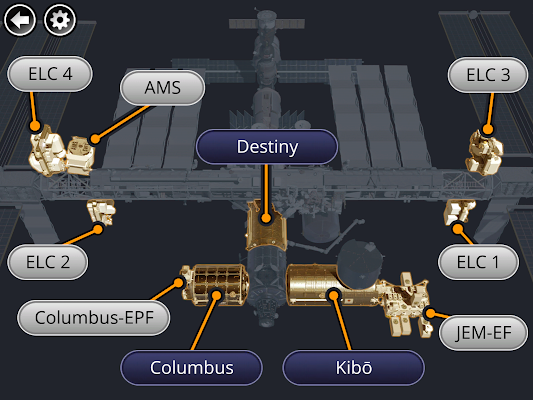 ISS Research Explorer - screenshot