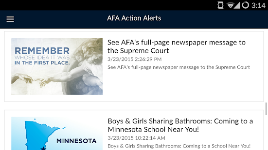 Action Alerts- screenshot thumbnail