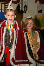 Photo: Jeugdprins Nighel en Jeugdprinses Jade