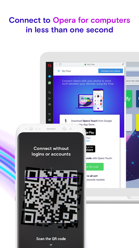 Opera Touch: the fast, new web browser screenshots