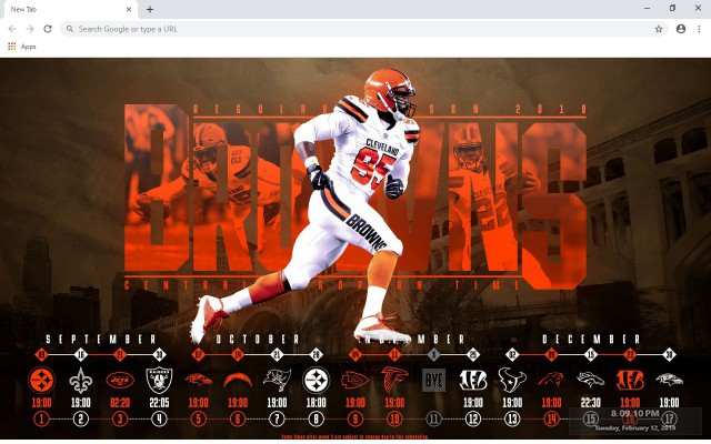 Cleveland Browns New Tab