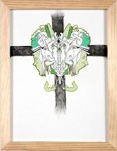 "Photo: B58 Fendleym Reserve $40 Inkand Colored Pencilon Paper 13""x10"""