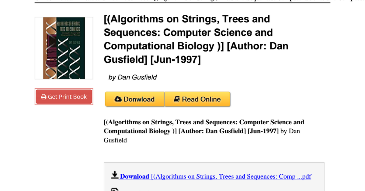 Algorithms strings trees sequences computational b010b9jcdupdf algorithms strings trees sequences computational b010b9jcdupdf google drive fandeluxe Choice Image