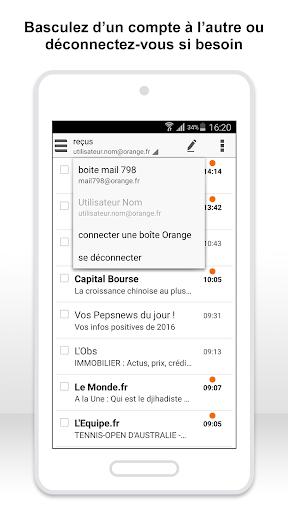 Mail Orange, 1er mail français screenshot 5