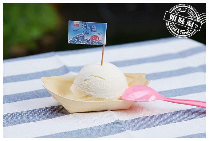 小琉球荷花軒戀戀海塩冰淇淋2
