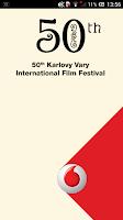 Screenshot of Vodafone KVIFF Guide 2015
