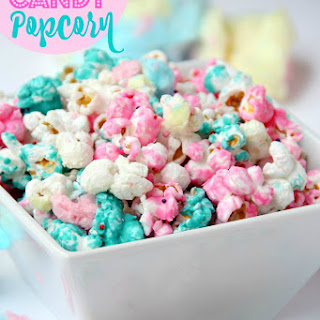 Cotton Candy Popcorn.