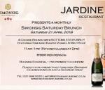 Simonsig Kaapse Vonkel Bottomless Bubbly Brunch : Jardine Restaurant