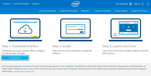 Download Intel Driver Update Utility