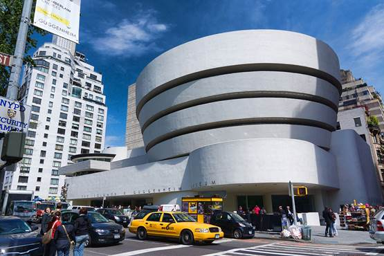 Descrição: http://upload.wikimedia.org/wikipedia/commons/thumb/6/6b/NYC_-_Guggenheim_Museum.jpg/1024px-NYC_-_Guggenheim_Museum.jpg