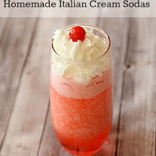 Homemade Italian Cream Sodas