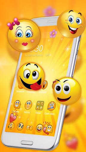 Funny Emoji Theme screenshots 1