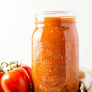 Italian Tomato Pasta Sauce.
