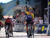 Primoz blij dat hij het sterke werk van zijn team kon afmaken in tweede rit Tour de l'Ain