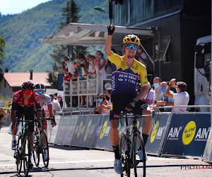 """Primoz Roglic geniet met volle teugen van overwinning (en tikje aan Ineos en Bernal): """"Een geweldige teamprestatie"""""""
