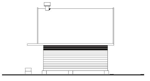 WB-3355 - Elewacja tylna