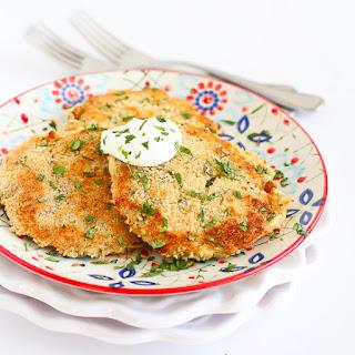 Cheesy Chile Leftover Mashed Potato Patties.