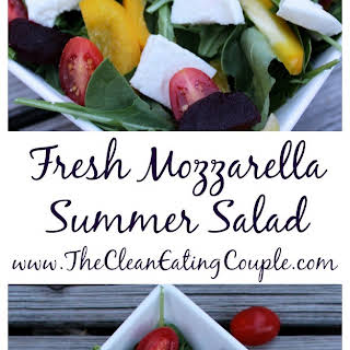 Fresh Mozzarella Summer Salad.
