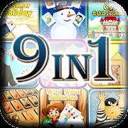 9 Fun Card Games - Solitaire, Gin Rummy, Mahjong