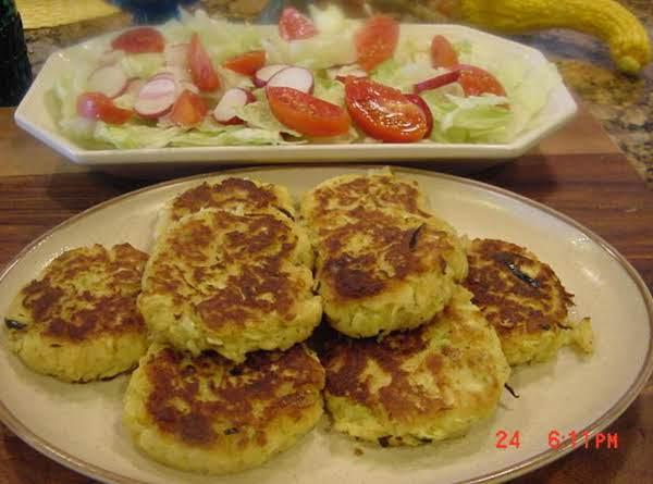 Zucchini (crab) Cakes -- Bonnie's Recipe