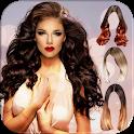 Women Hair Changer Photo Editor icon