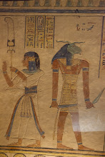Photo: QV55, tomb of Amenherkhepshef -son, and Khnum?