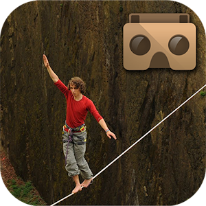 VR Rope balance : Walk on rope for PC and MAC