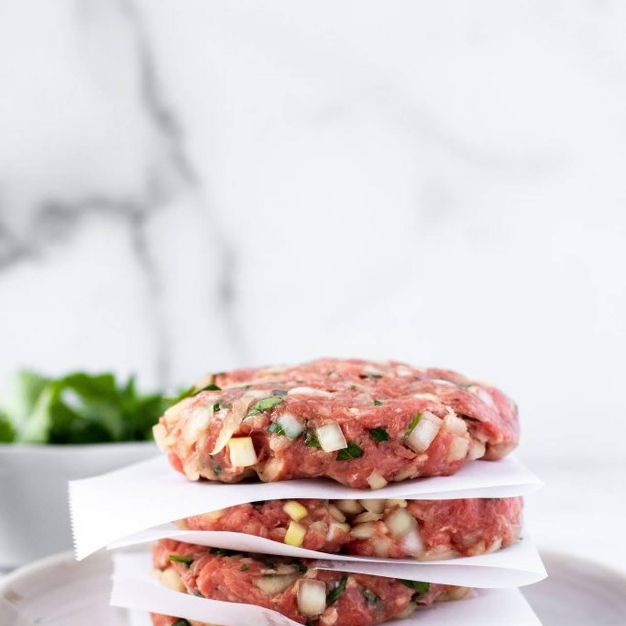 The Best Homemade Hamburger Patties