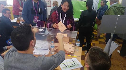 Votación de Raquel Martínez Aguilera