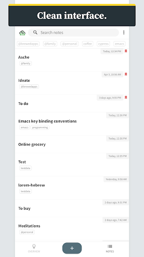 ideate - outlines, notes, tasks, and thoughts screenshot 1