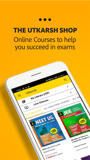 Utkarsh : Live Classes, Quiz & Test, Smart e-books 3.5.1 screenshots 5