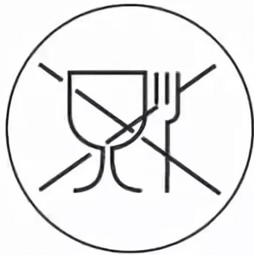 знак рюмка и вилка