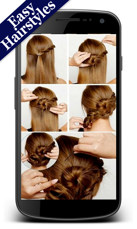 Hairstyles Easy- screenshot