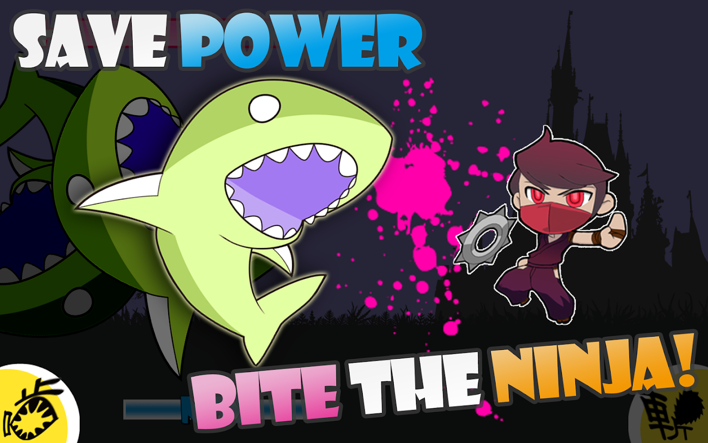 Zombie Shark vs Ninja- screenshot