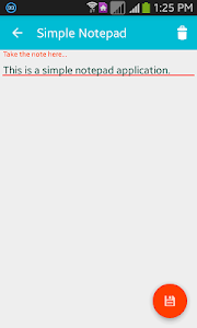 Simple Notepad screenshot 3
