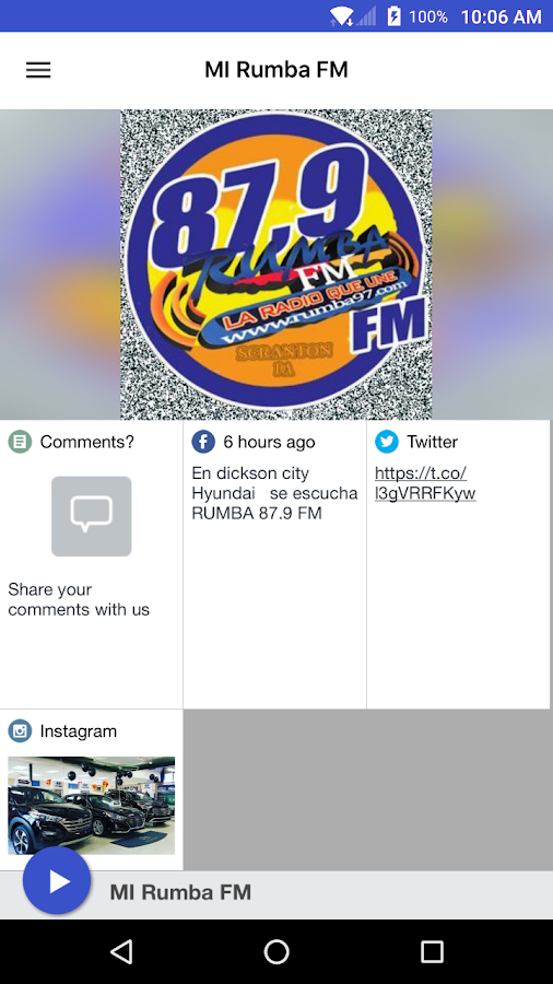 MI Rumba FM- screenshot