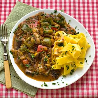 Mushroom Red Pepper Stroganoff Recipes.