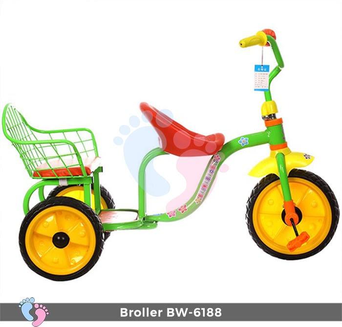 Xe đạp đẩy ba bánh Broller XD3-6188 8