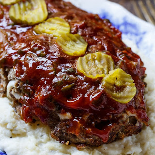 Dill Pickle Meat Loaf.