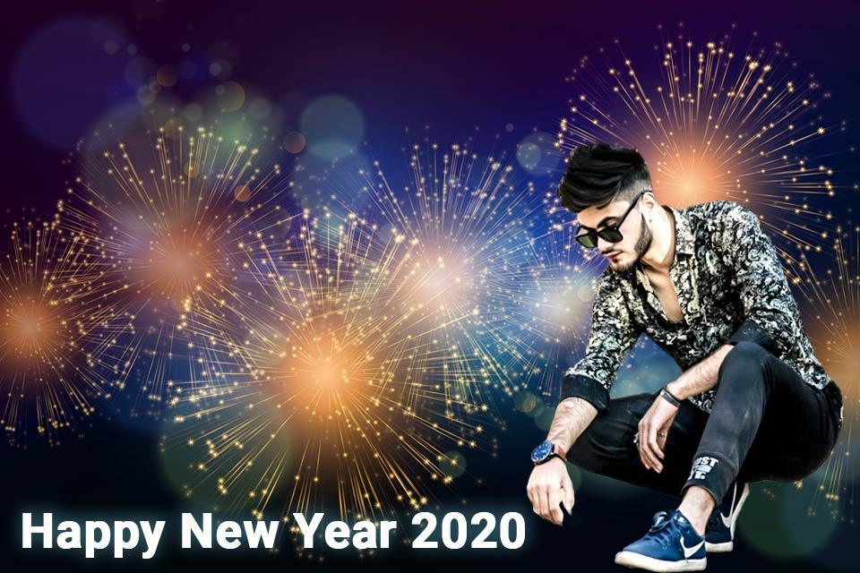 Happy New Year Editing Background 93