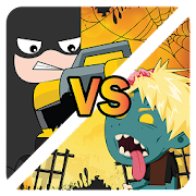 Bat lego superhero fight shooting zombie game 1.1